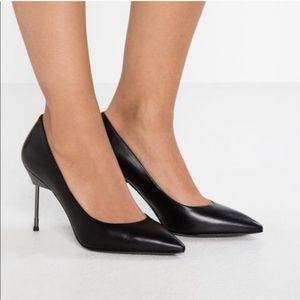 NEW Kurt Geiger 90mm Britton Black Pump